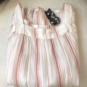 LC Long Sleeved Striped Blouse